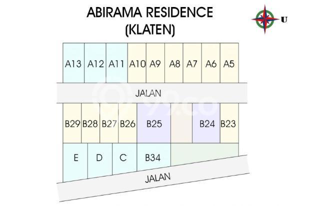 Rumah KPR DP 0 % Kota Klaten, Bangunan Siap Huni 16358902