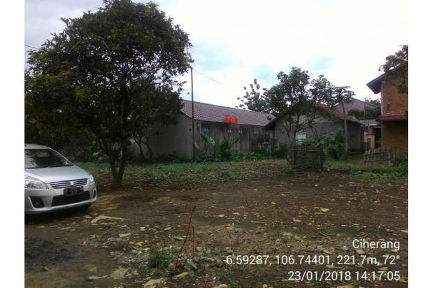 Tanah kavling 200 m2 di Ciherang Dramaga untuk Rumah Tinggal 15422937