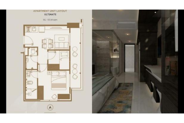 Rp896jt Apartemen Dijual