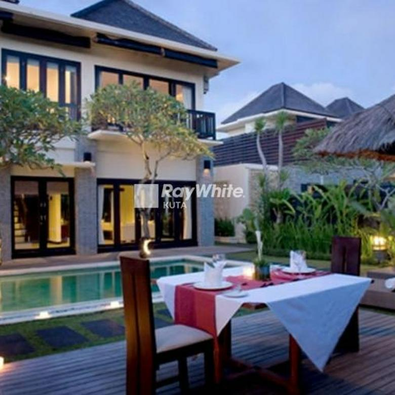 Modern Villa in the Most Beautiful Place view of rice fields in Umalas Canggu