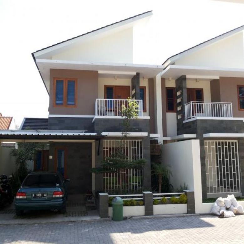 Dijual Rumah baru 2 lantai area jogja utara maguwoharjo