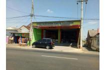 Dijual Toko bangunan nol jalan raya prospek bagus