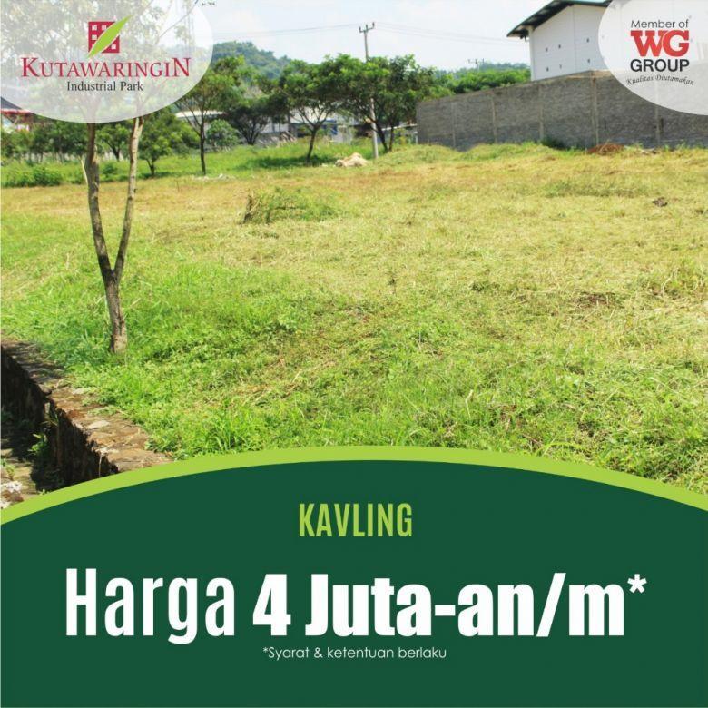 Tanah Kavling di Bandung 2000 Meter Siap Bangun