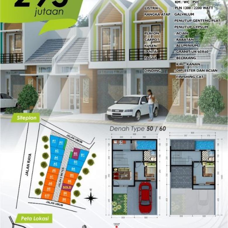 Town House Milenial 200 Jutaan Di Kota Malang D'GIO MALIK