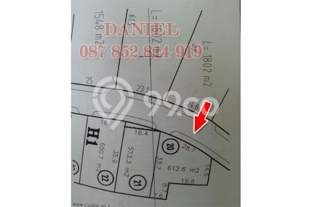 [MURAH]Tanah Kav Jalan Kembar Boulevard Galeria Golf Citraland Surabaya 11065927
