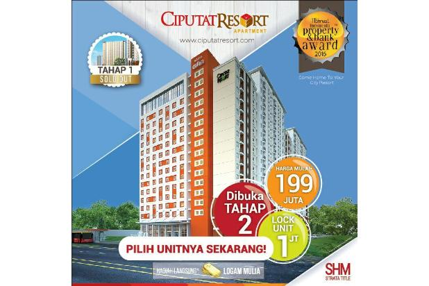 Ciputat Resort Apartment Segera Launching Tower ke-2