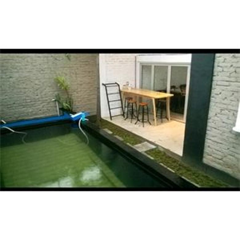 Rumah Murah kolam renang di Cipamokolan Bandung Timur, TL 160, LB 70