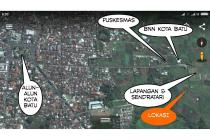 Tanah Strategis akses mudah di Batu Malang, Dekat Alun2 Kota Batu