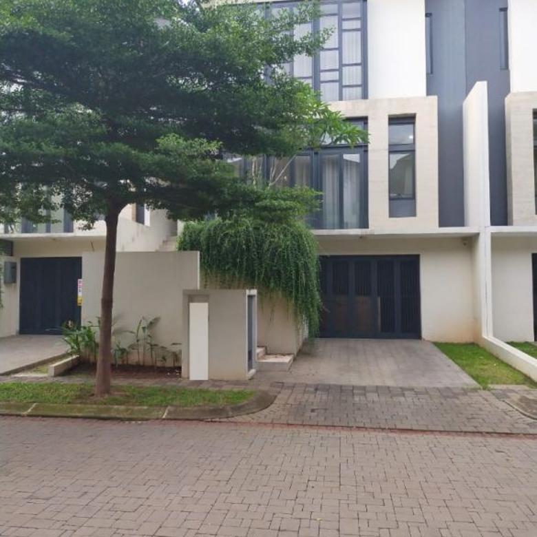 Rumah design modern di Navapark BSD