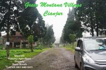 Tanah Kavling Green Montana Village Puncak Jawa Barat - SHM