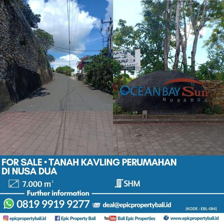 #EBL084 Dijual Tanah di Kawasan Elit Nusa Dua