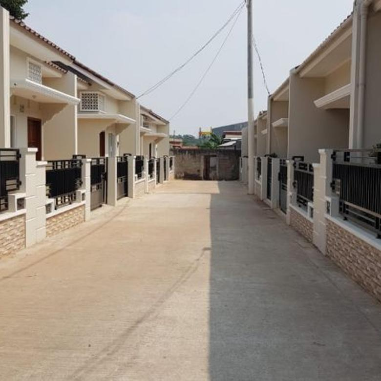 Rumah cluster siap huni strategis di JatinRes Perumahan Pemda
