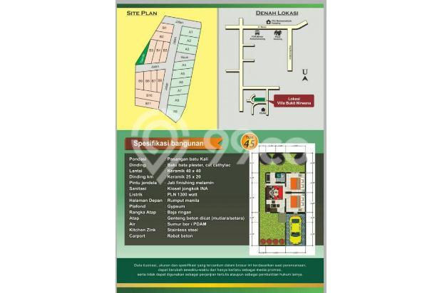 perumahan limas villa bukit nirwana harga 300jutaan 17995045