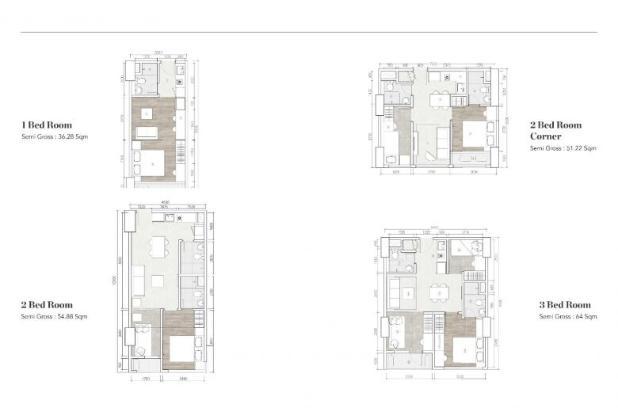 Rp924jt Apartemen Dijual