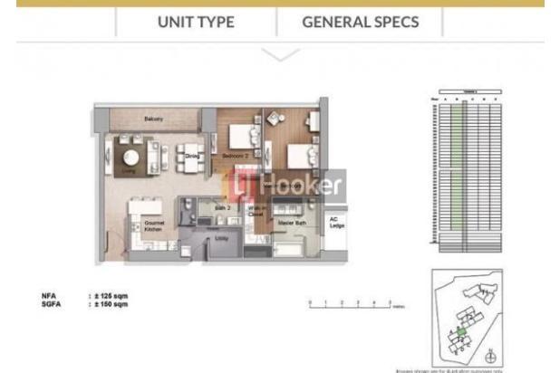 Rp9,75mily Apartemen Dijual