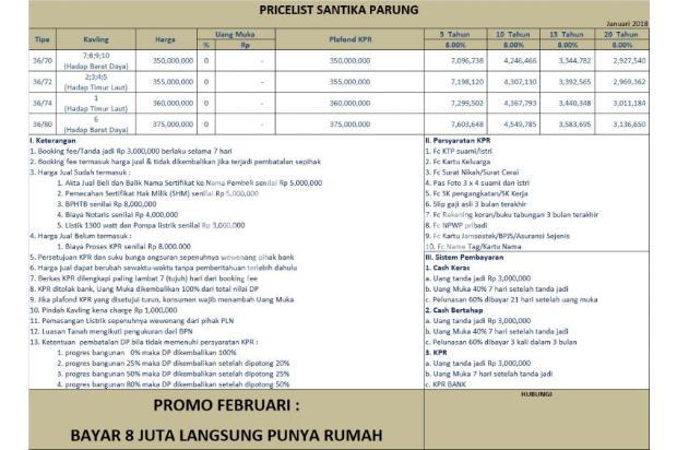 Baru Launching: KPR Rumah DP 8 Juta di Parung 16047715