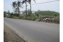 Jual murah tanah di Jl Raya Cibarusah Cikarang Bekasi