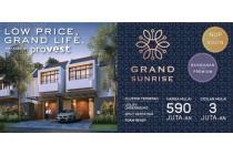 Rumah Dengan Lingkungan Prestigious Grand Sunrise Surabaya Hanya 590 Jutaan