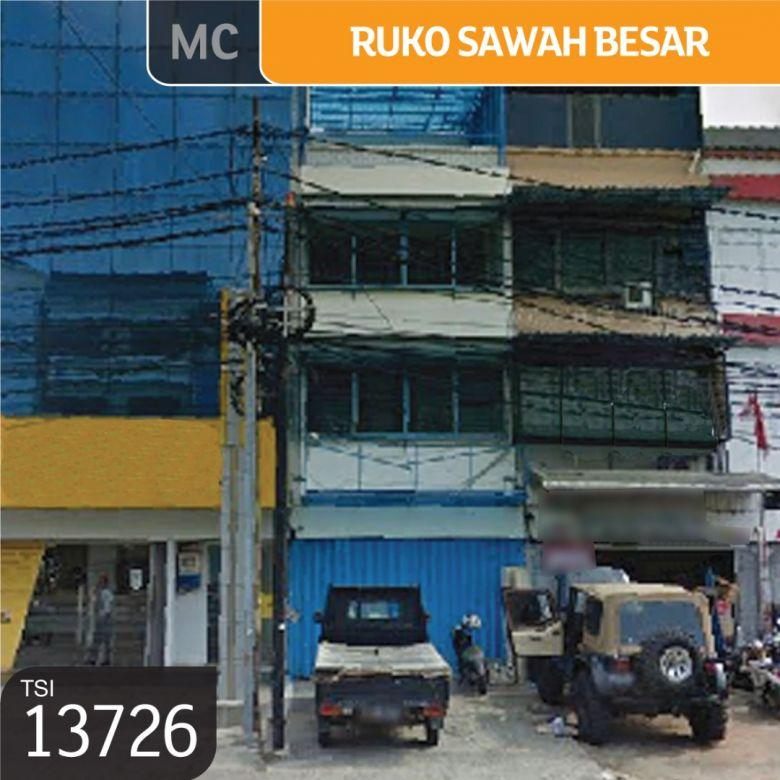 Ruko Sawah Besar, Jakarta Pusat, 9x18m, 3 Lt, SHM