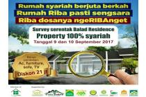 Jual Rumah KPR Syariah Tanpa Bank Bebaa Riba, Balad Residence Depok