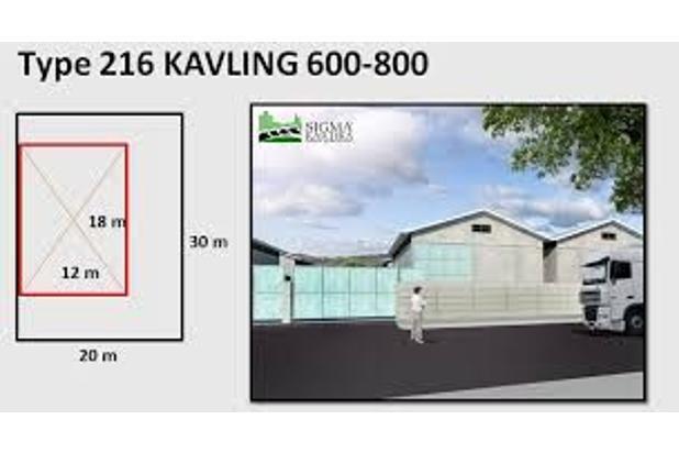 gudang sigma kartika, bebas banjir, dekat dengan tol info lengkap http