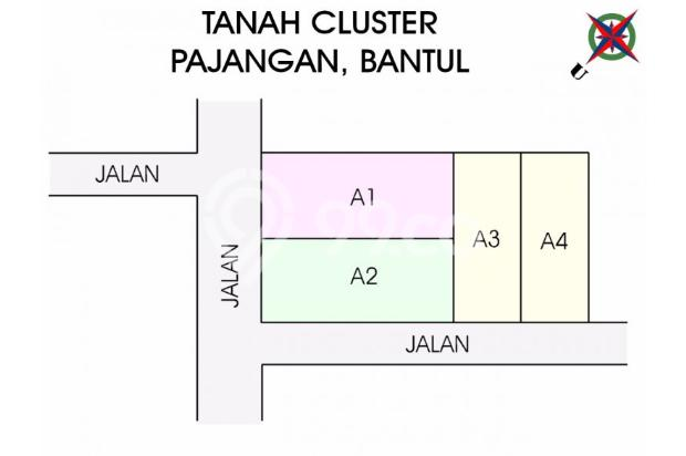 Jual Kapling Tanah, BAYAR 12 X TANPA BUNGA, Bantul 17711549