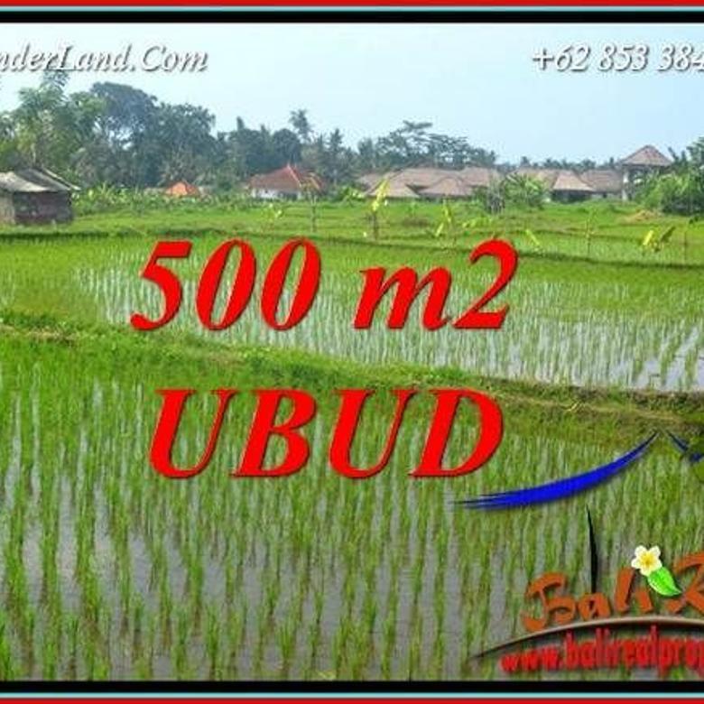 Affordable 500 sqm in Sentral Ubud