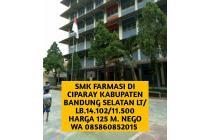 Sekolah perawat dan kesehatan dijual di Kabupaten Bandung Selatan