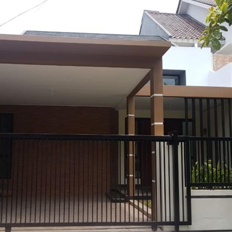 Rumah Renovasi di Villa Bintaro Indah dekat Stasiun Sudimara