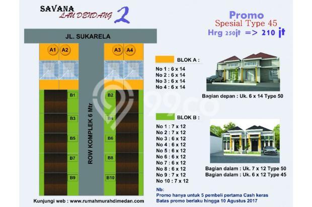 Miliki segera rumah paling murah, nyaman dan asri Savana Lau Dendang 2 13425221