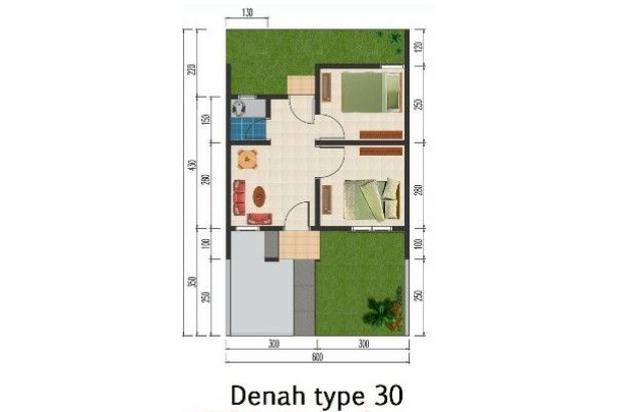 Rumah subsidi dalam cluster dekat pasar kosambi karawang 16509862