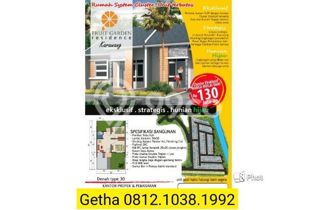 Rumah subsidi dalam cluster dekat pasar kosambi karawang 16509871