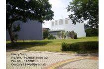 Garden House PIK (450m2) view Danau Pantai Indah Kapuk Jakarta Utara