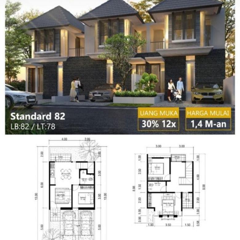 Rumah Rungkut Asri Timur Surabaya Minimalis Type Idaman Murah