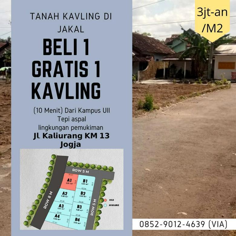Promo Ramadhan Beli 2 gratis 1 kavling tanah Dekat Kampus UII Sleman - Jogja
