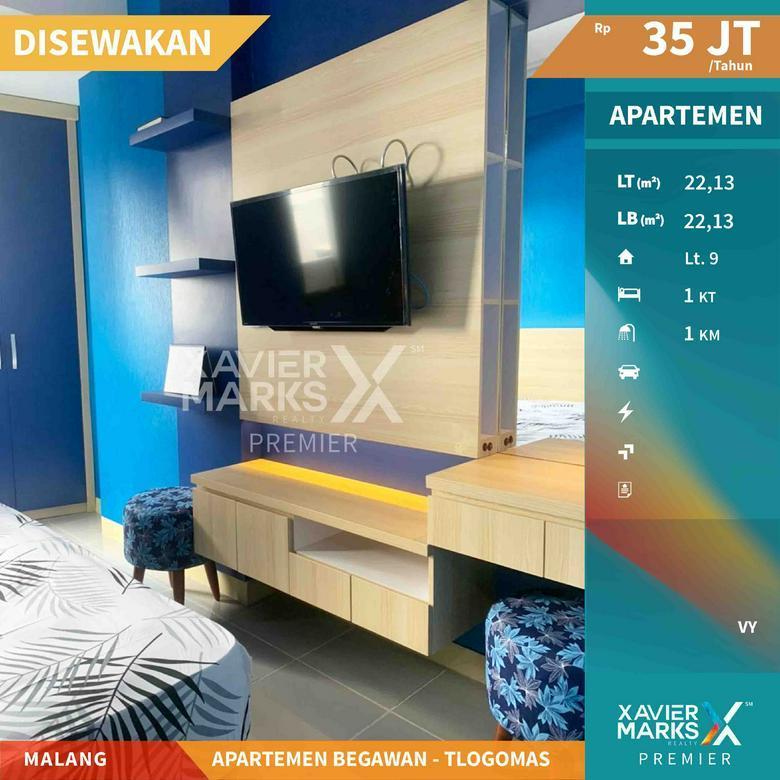 Apartemen Begawan Full Furnish Lokasi Tlogomas Malang