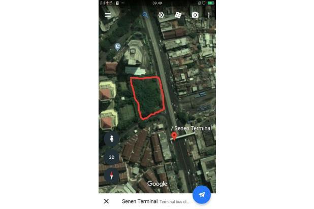 Dijual Lahan Strategis di Jl Raya Senen Jakarta Pusat 17826017