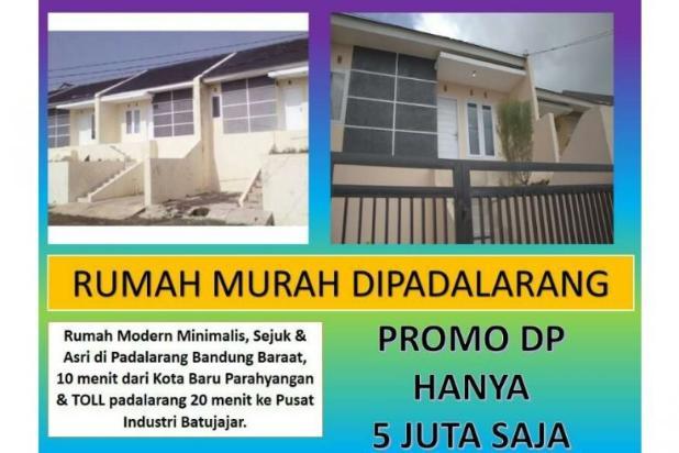 Rumah di jual padalarang murah baru bisa KPR strategis 12181261