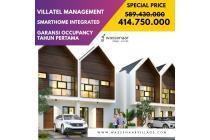 Jual Villa 2 Lantai Baru Bonus Water Heater Di Puncak