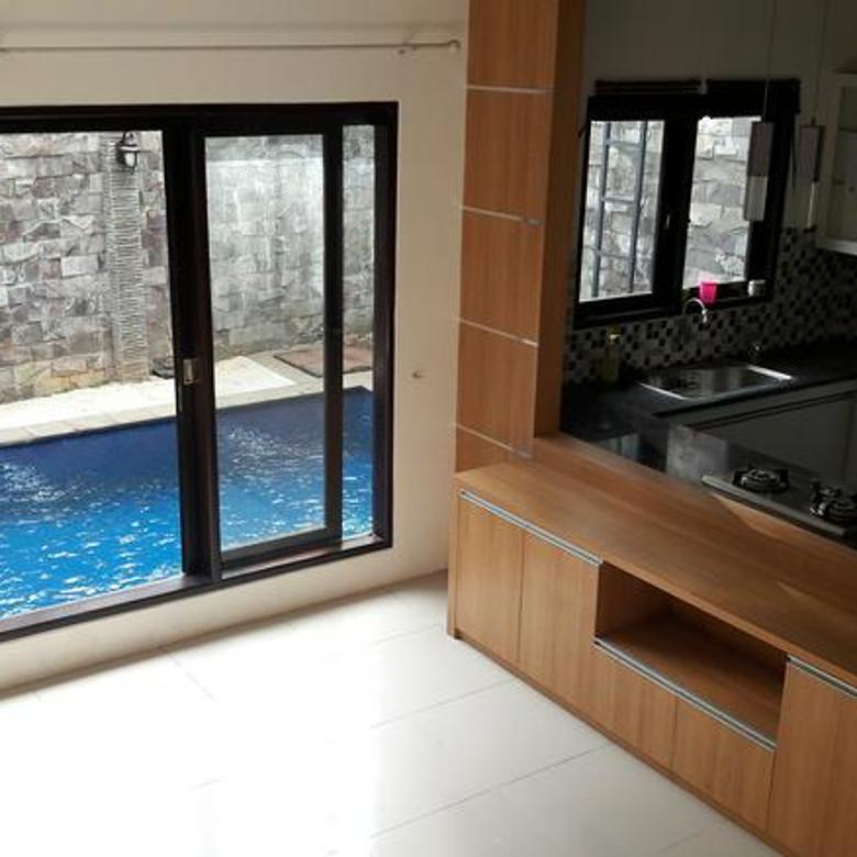 Rumah baru renovasi di area Bangka