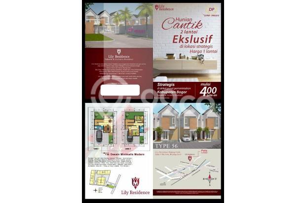 Rumah 2 Lantai Dekat Stasiun di Bogor 13697351