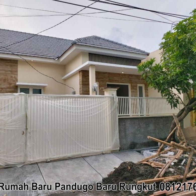 Rumah Dijual Baru Gress Minimalis Pandugo Rungkut (132b)