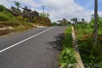 Land with fantastic valley view for sale in Kerta – Payangan