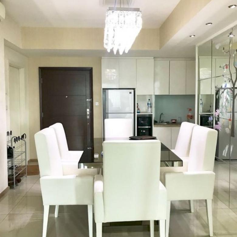 Apartemen Casagrande 3 Kamar Luas 105 m2 Jakarta Selatan 3,2 M