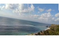 beach cliff front land for sale close to airport in bali