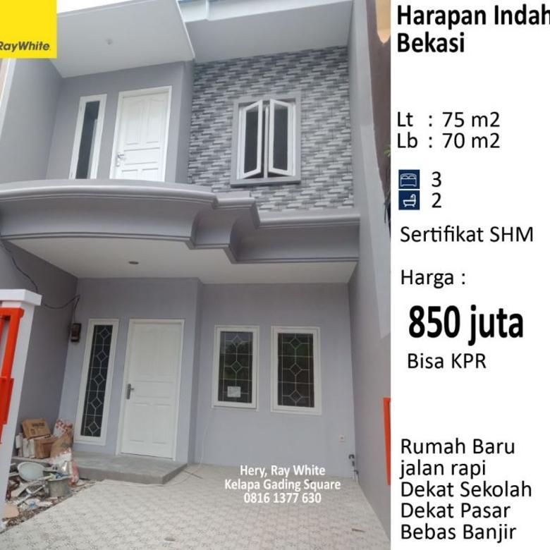 Rumah Baru Siap Huni di Harapan Indah Bekasi