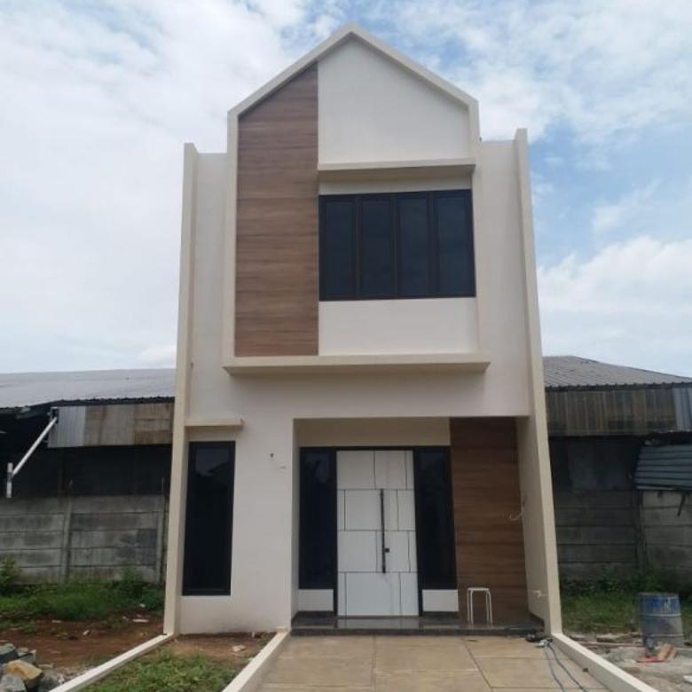Rumah Jatiasih Bekasi FREE BIAYA: 2 Lantai Akses Jalan LEBAR