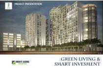 Apartment Semi Furnished Green Cleosa, Booking fee 500rb, Tanpa DP