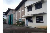 Gudang di Curug, Lokasi di Pinggir Jalan, Bisa Dilalui Kontainer 40 feet