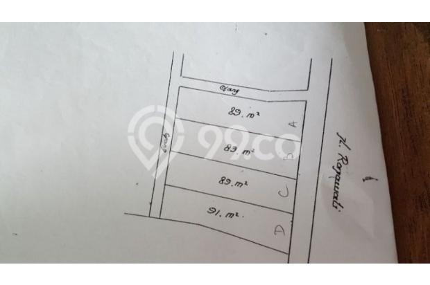 Ruko strategis luas ada 3.5 lantai di Rajawali Barat 17038017